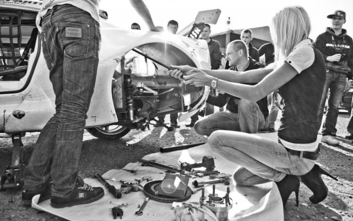Automobilių sportas/Vytauto Pilkausko nuotrauka
