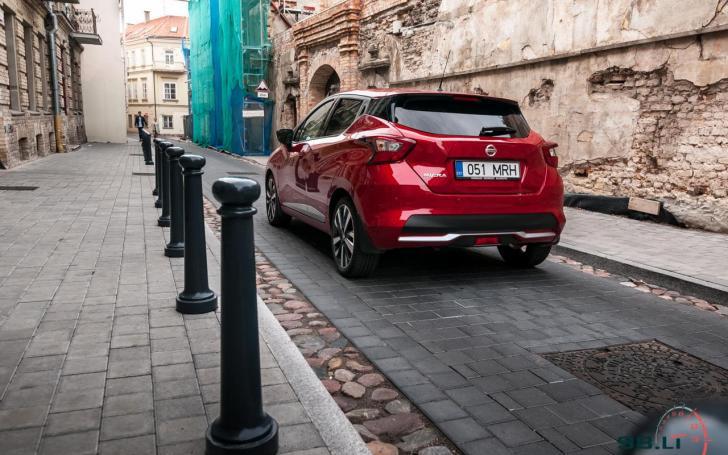 Nissan Micra/Vytauto Pilkausko nuotrauka
