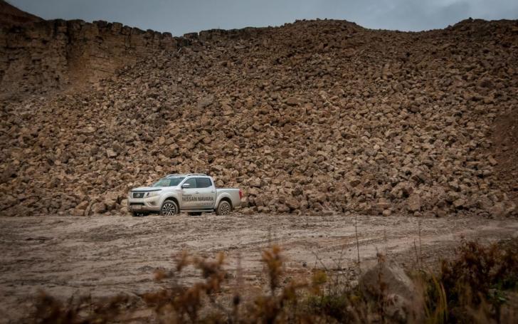 Nissan Navara/Vytauto Pilkausko nuotrauka