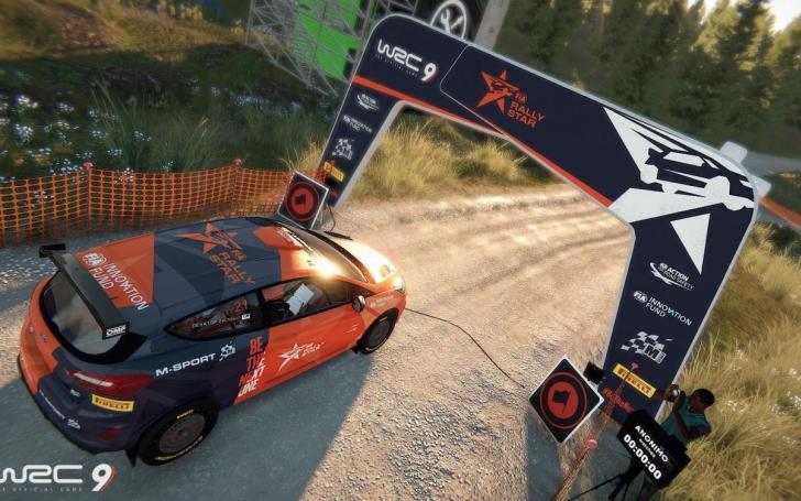 WRC 9 žaidimo ekranvaizdis