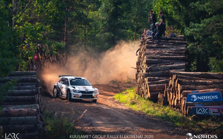 Kuusamet Group Rally Elekrėnai