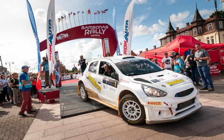 Samsonas Rally Rokiškis 2017/Vytauto Pilkausko nuotrauka