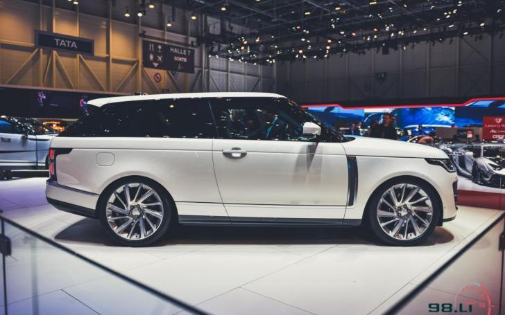 Range Rover SV Coupé/Vytauto Pilkausko nuotrauka