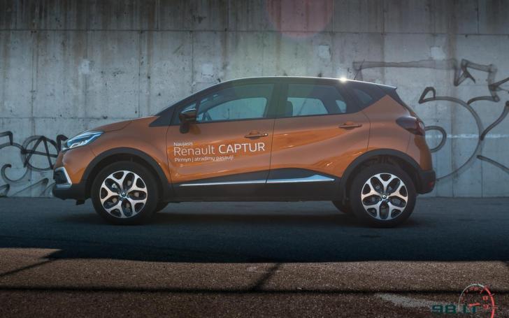 Atnaujintas Renault Captur