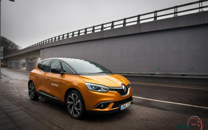 Renault Scenic/Vytauto Pilkausko nuotrauka