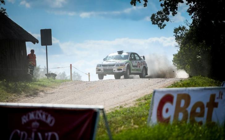 Samsonas Rally Rokiškis/Andriaus Lauciaus nuotrauka