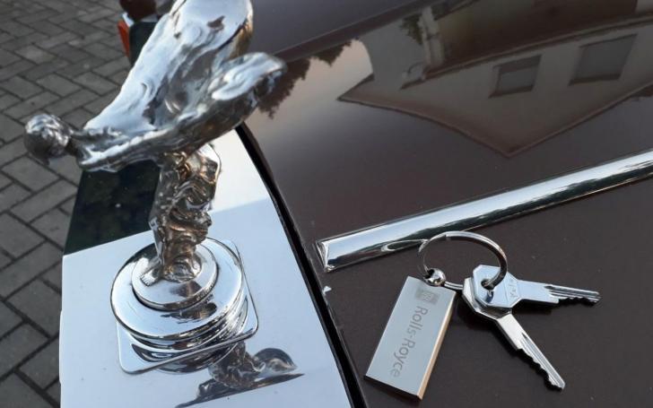 Rolls-Royce Silver Wraith/Asm. archyvo nuotrauka