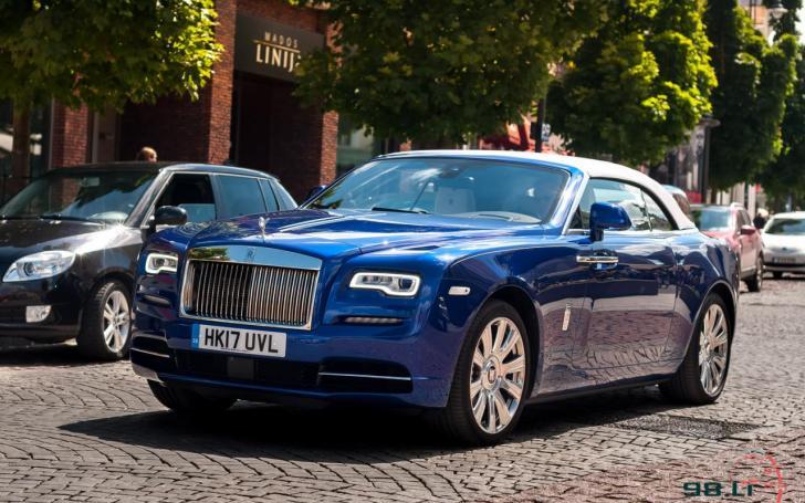 Rolls-Royce Dawn/Vytauto Pilkausko nuotrauka