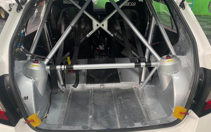 Škoda Fabia R5/KG Motorsport nuotrauka