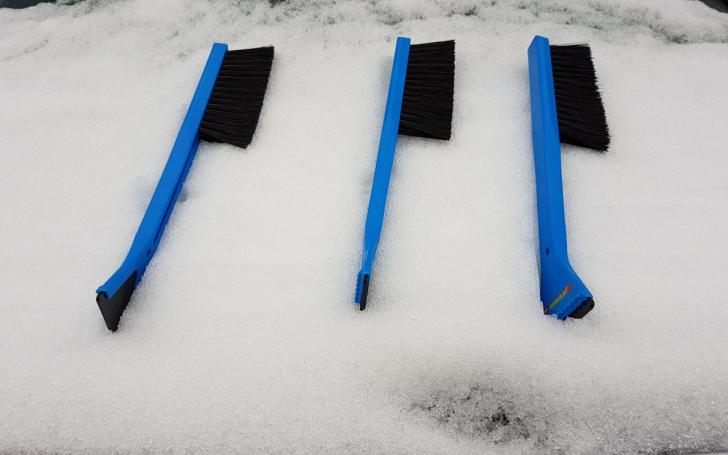 Sniego valymo šluotelės