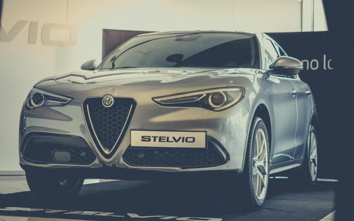 Alfa Romeo Stelvio/Vytauto Pilkausko nuotrauka