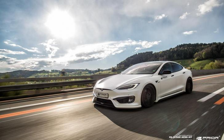 Tesla Model S Prior Design