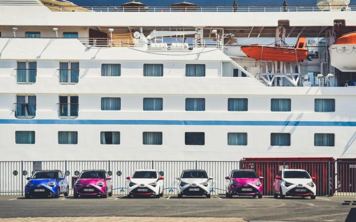 Toyota Aygo/Vytauto Pilkausko nuotrauka