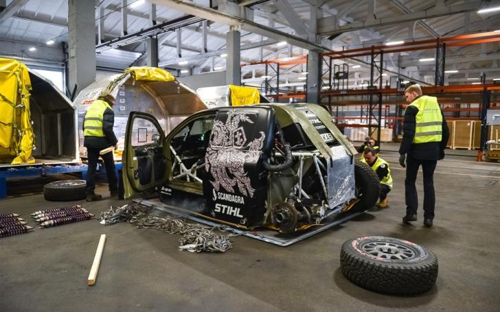 Toyota Hilux/Vytauto Pilkausko nuotrauka