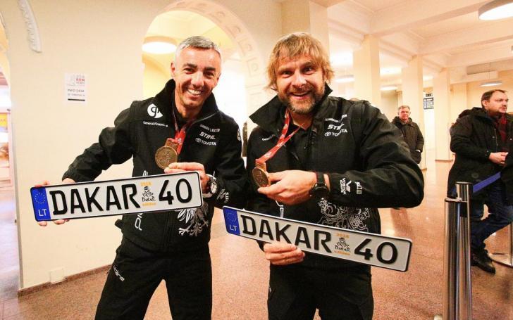 Benediktas Vanagas ir Sebastianas Rozwadowskis/Edgaro Buiko foto