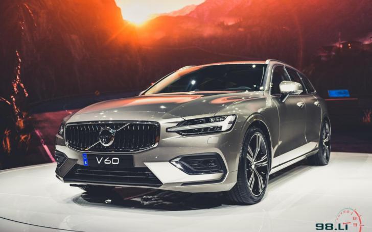 Volvo V60/Vytauto Pilkausko nuotrauka