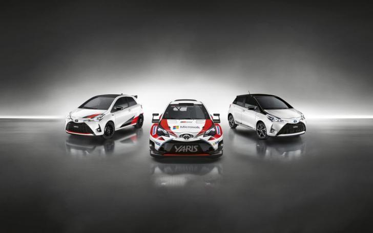 Toyota Yaris GRMN/Gamintojo nuotrauka